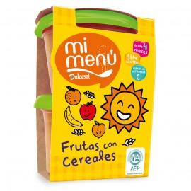 Frutas con cereales