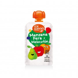 Bolsitas manzana, pera y melocotón
